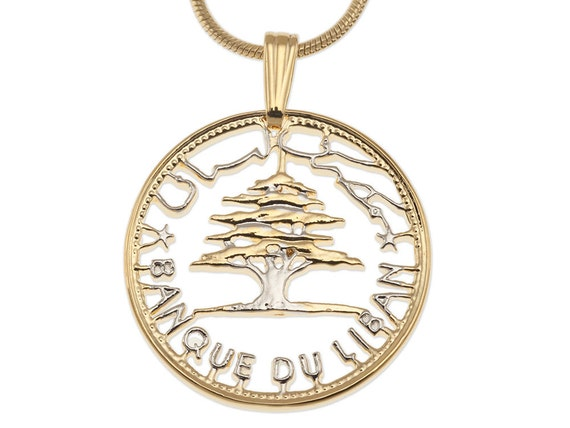 lebanese cedar tree pendant and necklace jewelry lebanese 50