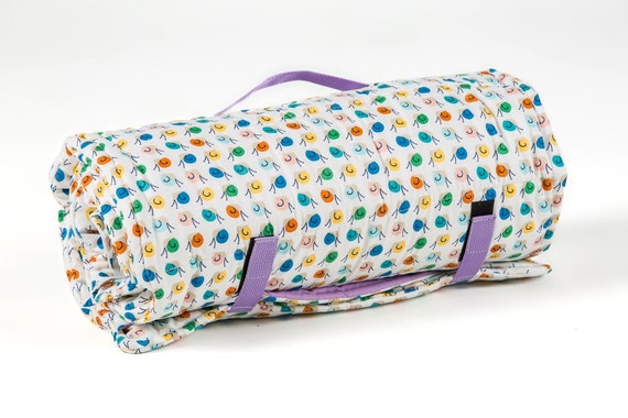 Organic Nap Mat Springtime With Attached By Organicdesignsco