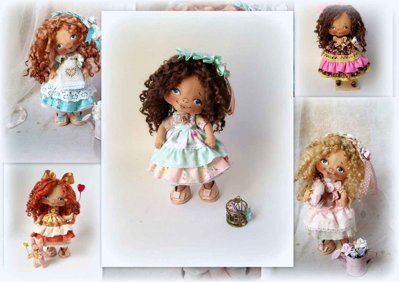 Soft Doll PATTERN PDF Cloth Doll Pattern Digital Download