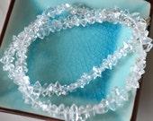 Larger Size Herkimer Diamond Beads, Double Terminated, Crystal Quartz