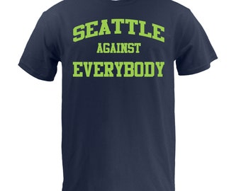 Seattle Against Everybody - Lime on Navy
