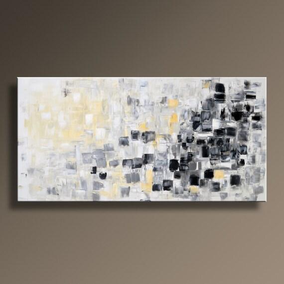 fr listing  grand abstrait peinture originale sur
