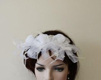 Wedding  Flower Hair Combs,  Wedding Hair Accessories,  Bridal Hair Pieces hair pin Clips Fascinator, Hair Flower,  Bridesmaid