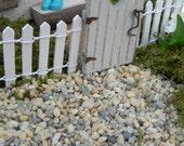 Fairy Garden tiny pebbles stones for miniature terrarium 8 ounces tiny stones decorative supply terrarium supplies
