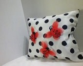 Ladybug Pillow,Small Pillow,Decorative Pillow