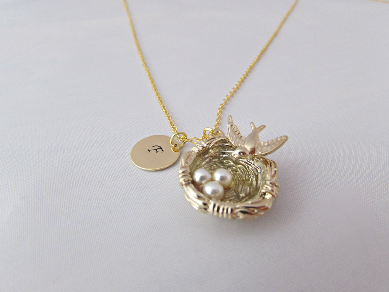 bird nest necklace nest necklace by