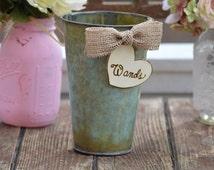 wedding farewell wands holder, rustic wedding sparkler send off, rustic wedding ribbon wand box