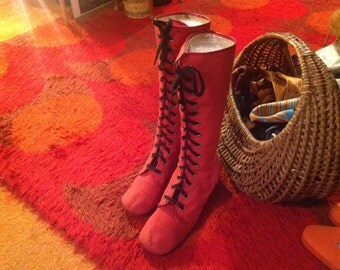 FAB.     1960s Mod GoGo Boots.  FAB