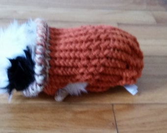 Hand Knit Guinea Pig Sweater in by ChillyDogsPetApparel on ...