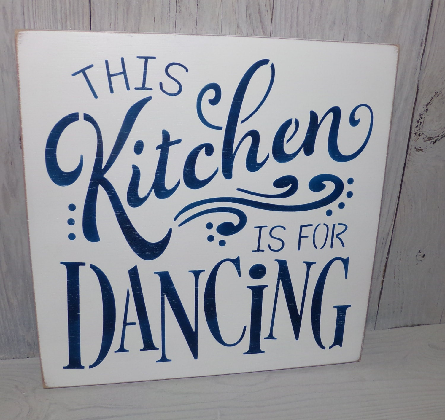This Kitchen Is For Dancing Kitchen Sign Kitchen Wall Decor