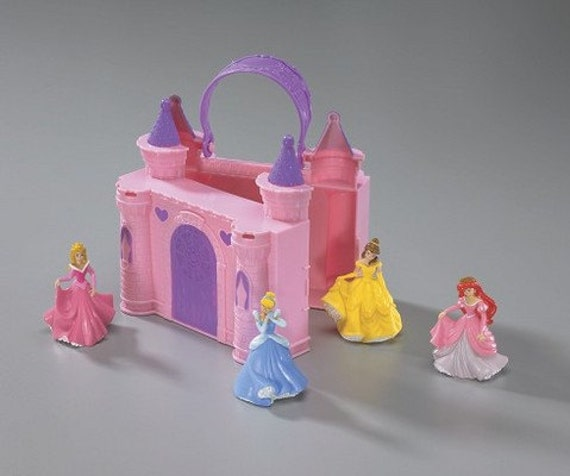Disney Princess Cake Decoration Kit : Disney Princess Castle Cake Decorating Set Ariel Belle