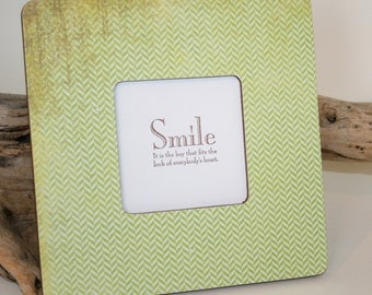 Green picture frame, Picture frame, Photo frame, Spring green frame