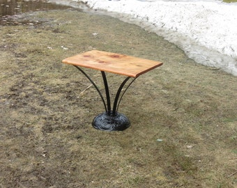 Amazing One Of A Kind Salvaged Re-Purposed Recycled Table Unique Home Decor