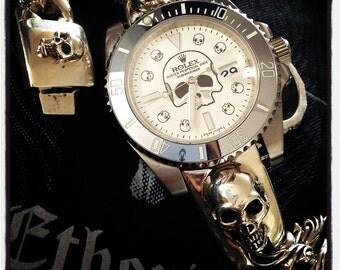 Skull Watch Band
