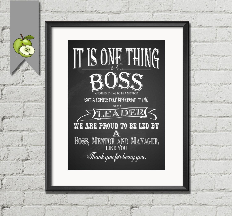 Appreciation Poems For Boss Boss Appreciation Gift Boss