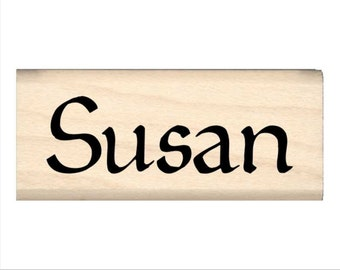 Name Rubber Stamp for Kids  - Susan