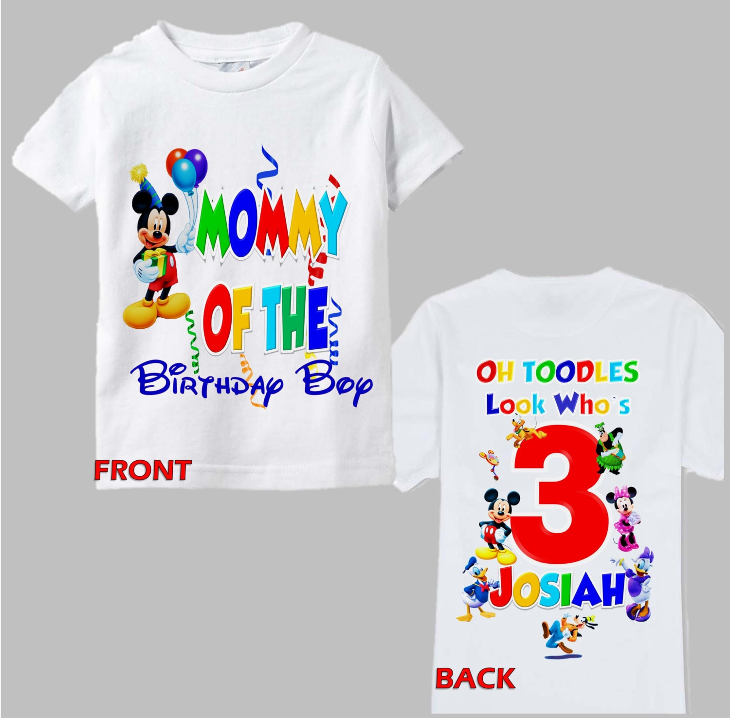 mickey clubhouse birthday shirt mickey mouse birthday. Black Bedroom Furniture Sets. Home Design Ideas