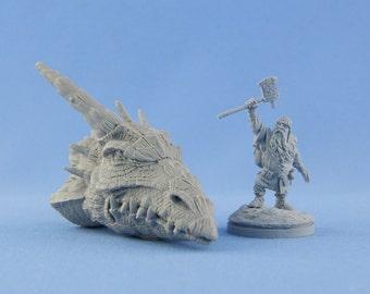 54 mm Dwarf winner of Dragon and Dragon head