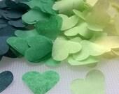 Wedding Confetti/Biodegradable Throwing Confetti - Green Ombre