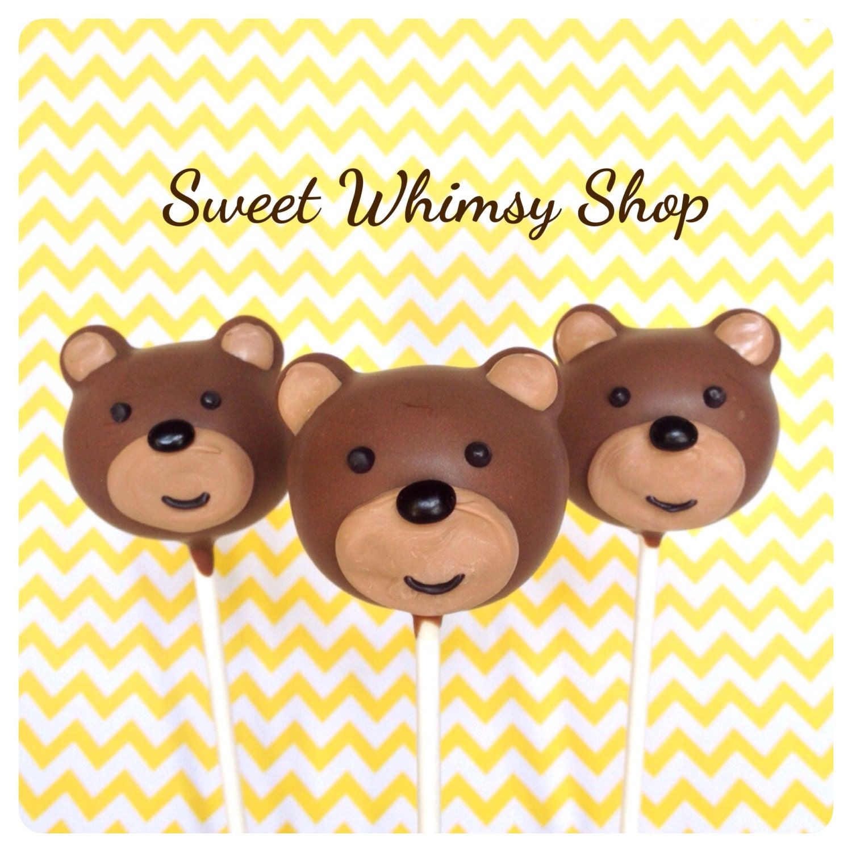Valentine Teddy Bear Cake Pops