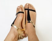 Paphos handcrafted leather sandal, Various colours, high quality genuine leather Greek sandals