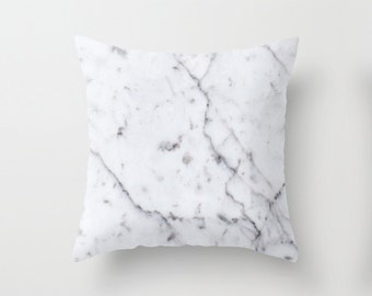 Marble Pattern Throw Pillowcase