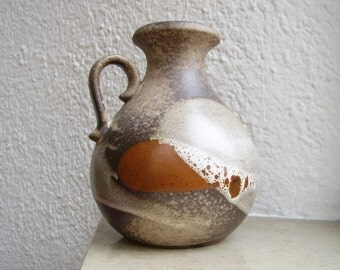 SALE!!! Scheurich west german handled vase