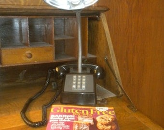 Telephone Desk Lamp, Unique, One-Of-A-Kind, Absolute Must for a Conversation Piece!