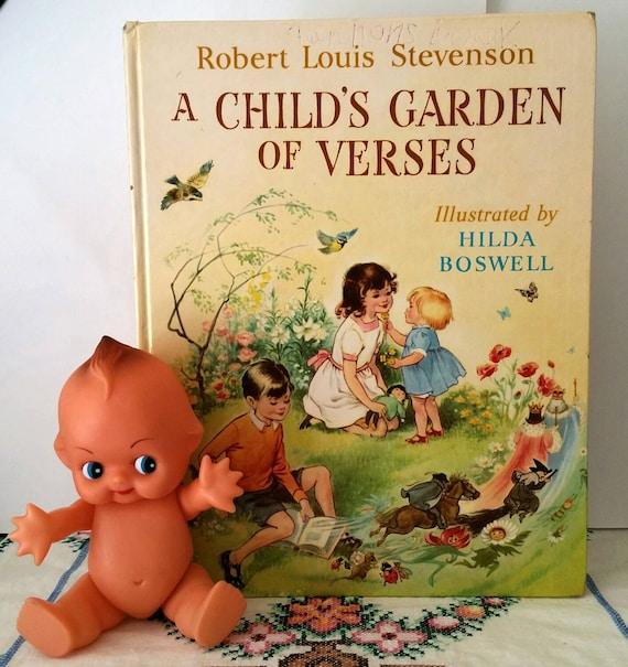 Robert Louis Stevenson Child 39 S Garden Of Verses By Verastreasures