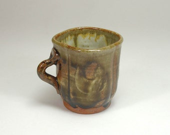 Stoneware Pottery  Mead Wine Tasting Cup Teacup For Spirits Necklace