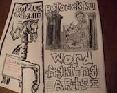 Rojonekku Word Fighting Arts zine issue II