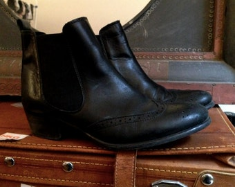 Leather Boots size 38 Europe