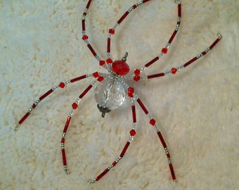Red & Clear Spider