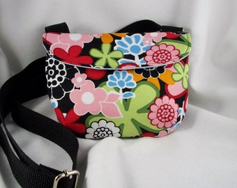 Cross Body Bag Cotton Purse Tote Pouch