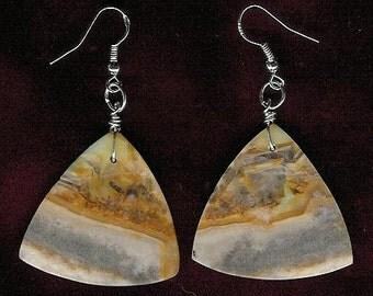 Earrings - Amazonite, Sterling Silver