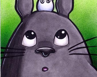 Miyazaki Inspired Totoro Marker Sketch
