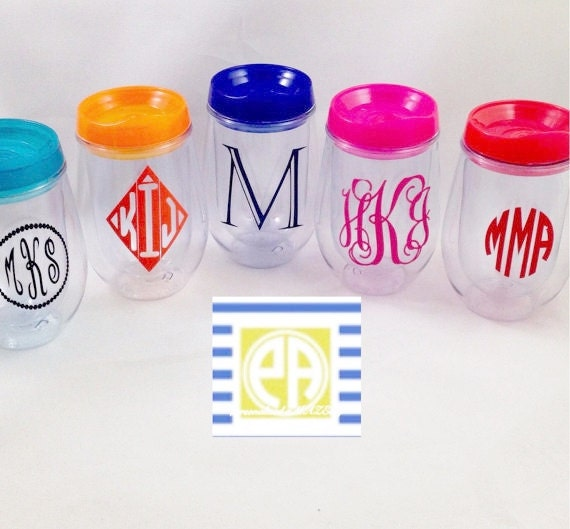 Personalized Cup, Monogram Cup, Personalized Gift, Monogram Gift, Bev2Go, Beach Cup, Bachelorette, Spring Break, Travel Cup, On the Go