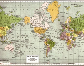 ANCIENT EARTH IDEAS World Map Map of the World Astronomy
