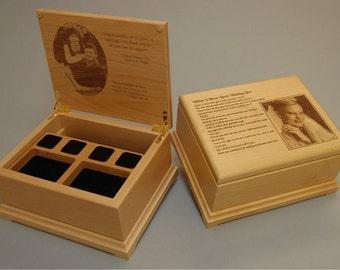 Engraved jewelry box Etsy