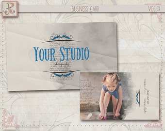 Photography Business Card Template - Photoshop Files vol.3
