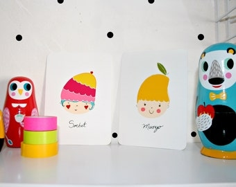 Mini Prints -Summertime-