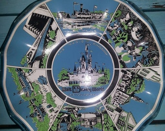 Vintage Walt Disney World Ashtray or Candy Dish