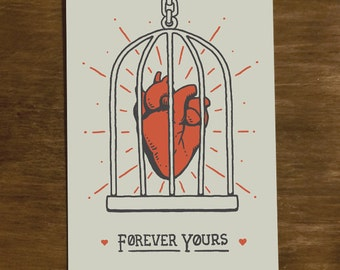 "Forever Yours – Greeting Card | 4.25"" x 6.25"""