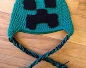 Crochet Minecraft Hat