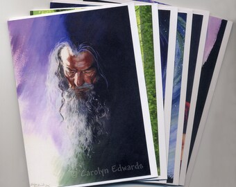 General Greetings Cards selection  - Pack of 6 cards - Your choice of designs.