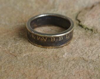 1978 italian coin ring stock #20