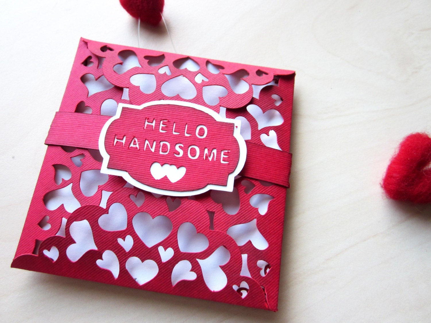 Cute handmade love cards for him
