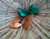 Butterfly Hair Barrette or Keychain ( 8 color choices )