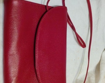 VINTAGE 60's KORET PURSE Red Small