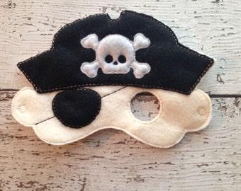 Pirate mask, Dress-up Mask, Boy mask